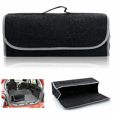 Large Car Boot Storage Bag Velcro Organiser for Tools Breakdown Travel Tidy Case