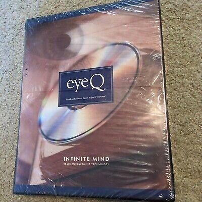 New EYEQ Infinite Mind Speed READING IMPROVEMENT BRAIN ENHANCEMENT PC Set Eye Q