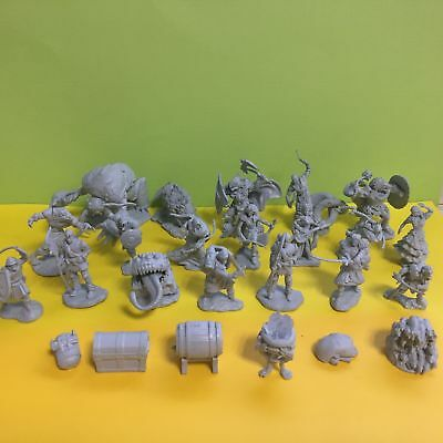 Toy Monsters (5X Dungeons & Dragons D&D Character Monster Plastic Mini Figure Toy Send)