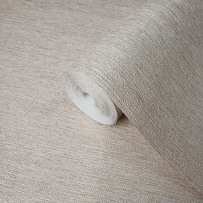 Beige Faux Grasscloth textures wallpaper Textured non woven wall coverings rolls