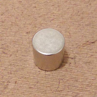 N52 Neodymium Cylindrical 12 X 12 Inch Cylinderdisc Magnets.