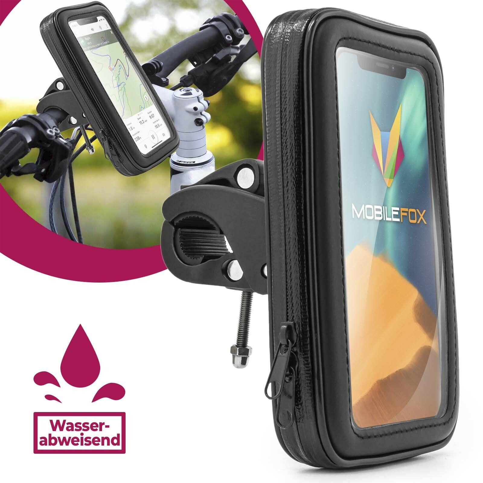 Halterung Halter Fahrrad Motorrad Lenker Handy Tasche für Apple iPhone 8 7 6 S