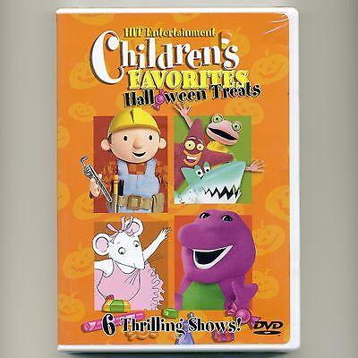 Children's Favorites Halloween DVD Thomas Train, Barney Bob Builder Pingu Kipper](Pingu Halloween)