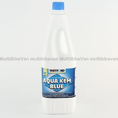 1 x 2 Liter  Aqua Kem Blue Thetford WC Zusatz Sanitärflüssigkeit NEU Camping