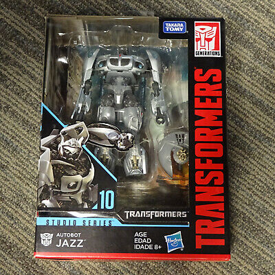 2017 Hasbro Transformers Generations Studio Series 10 Deluxe Class Jazz