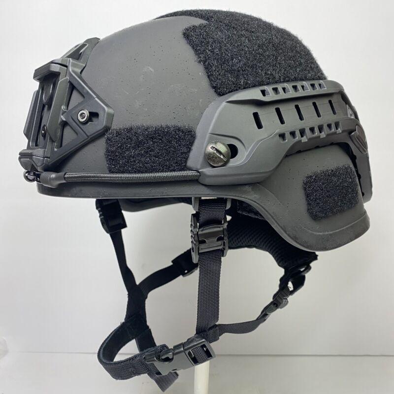 Medium Black MSA TC2000 ACH Ballistic Military Advanced Combat Helmet MICH Army