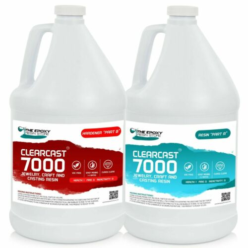 CLEARCAST 7000 - CLEAR EPOXY RESIN - GALLON KIT NEW