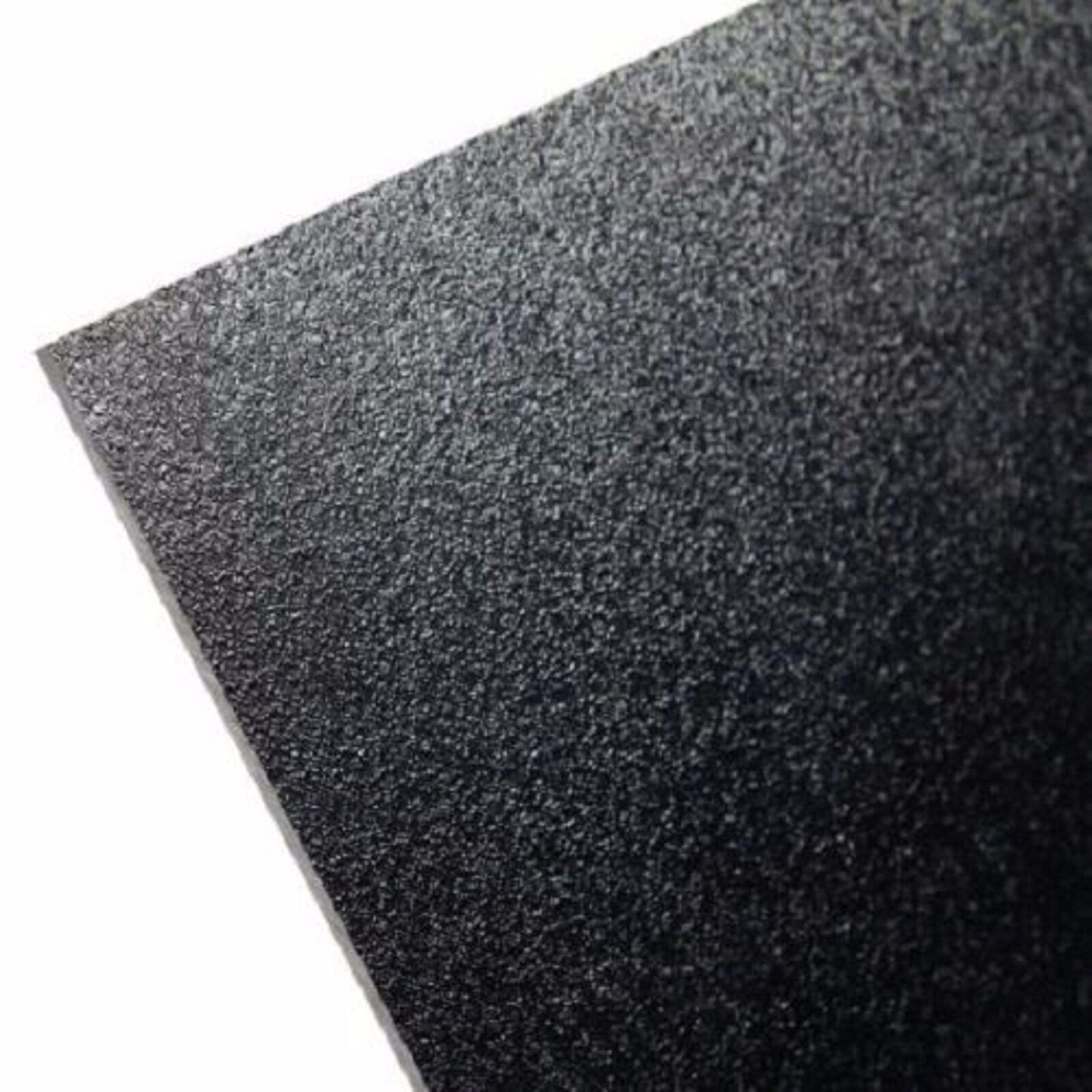 "V Sheets KYDEX Sheet Black 12"" x 12"" 0.060"" Thick Thermopla"