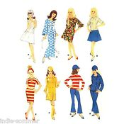 Vintage Barbie Clothes Patterns