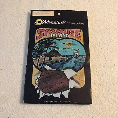 Savage Island - Scott Adams Adventure International - Atari - Very Rare