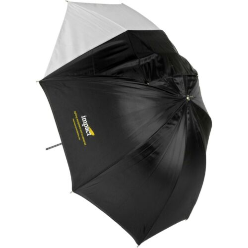 """Impact 32"""" Black/White Photography Umbrella with Removable Cover!"""