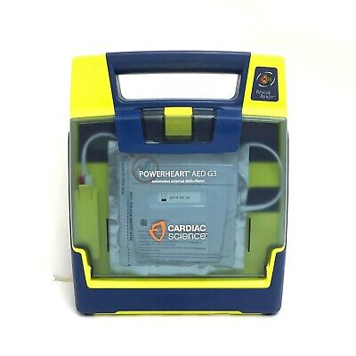 Cardiac Science Powerheart G3 Aed With Pads