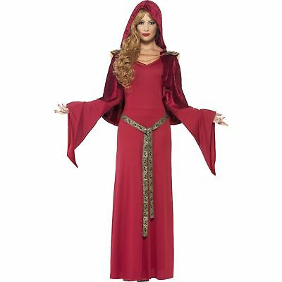 High Priestless Game Of Thrones Melisandre Legends Ladies Fancy Dress - Game Of Thrones Melisandre Costume