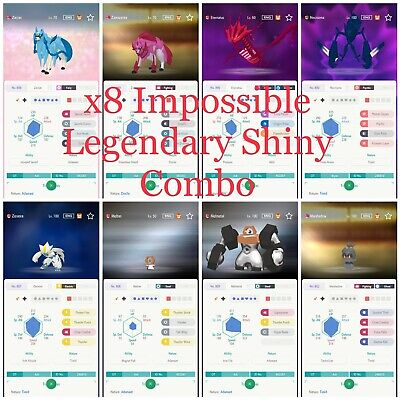 SHINY 6IV Zacian - Pokemon Sword And Shield / Pokemon Home LEGENDARY