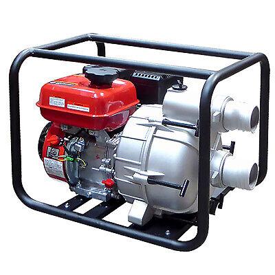 6.5hp 3 Gas Power 264gpm Full Trash Water Pump For Drain Flood Irrigation Epa