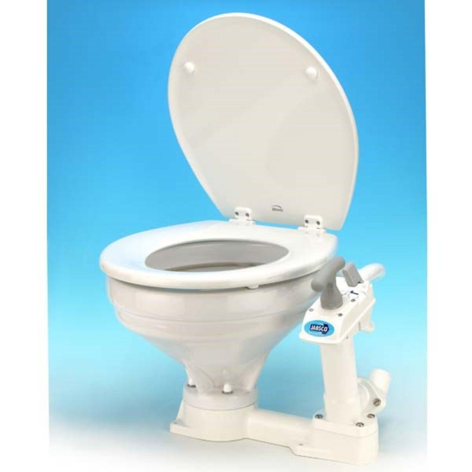 ITT Jabsco 29120-3000 Manual Standard Marine Toilet Circular ...