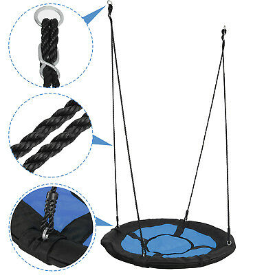 FUN Saucer Tree Web Swing 440LBs Durable Steel Frame EZ Installed Large Platform](Fun Frames)