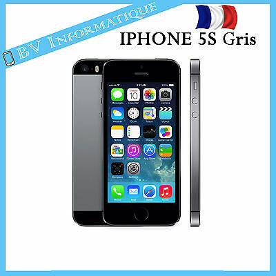smartphone apple iphone 5s 16 go gris sid ral d bloqu tout op rateur sortir de l 39 auberge. Black Bedroom Furniture Sets. Home Design Ideas