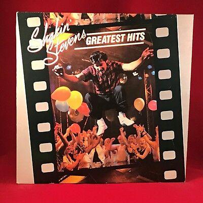 SHAKIN' STEVENS Greatest Hits 1984 UK Vinyl LP EXCELLENT CONDITION best of