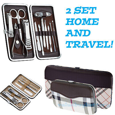 21 PCS Pedicure / Manicure Set Nail Clippers Cleaner Cuticle Grooming Kit - Manicure Sets
