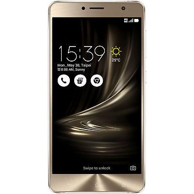 ASUS ZenFone 3 Deluxe 5.5, Smartphone, 64 GB, 5.5 Zoll, Galcier Silver, Dual SIM