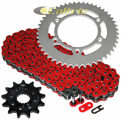Red O-Ring Drive Chain & Sprocket Kit for Honda CR250R 2003 / CRF450R 2004-2016