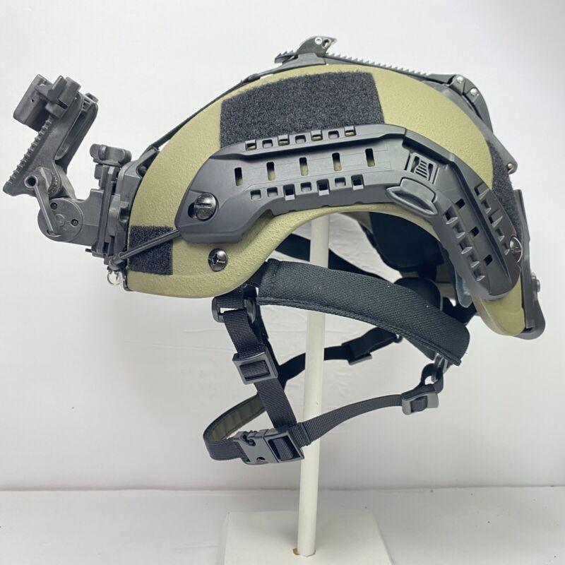 Ranger Green Black High Cut NIJ IIIA SOHAH Ballistic CVC Helmet DH132B Cadex Def