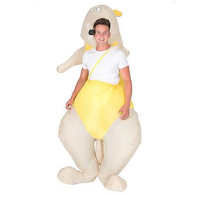 Adult Funny Inflatable Animal Kangaroo Fancy Dress Costume Halloween Stag Hen