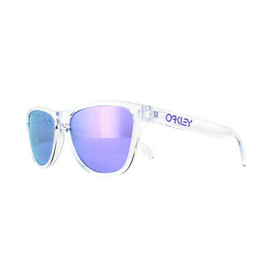 Oakley Sunglasses Frogskins XS OJ9006-03 Polished Clear Violet Iridium