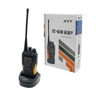 HYT TC-610 UHF Radio 5 Watt 16 Channel Two Way 2-way Radio UHF Walkie Talkie