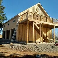 General Construction, Custom Builds, Additions, Renovations