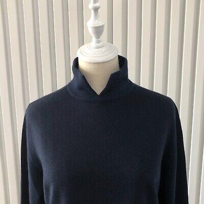 80s Sweatshirts, Sweaters, Vests | Women St Michael UK Womens Navy Jumper Collar Size 18GB 46/48EU Similar AUS M Vintage $22.27 AT vintagedancer.com