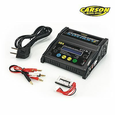 Carson Ladegerät Expert Charger Station 10A, 1-6S Lipo Lader 500606066