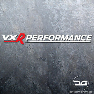 1x Vauxhall VXR Performance Logo Car Vinyl Decal Sticker   Astra   Corsa   Adam