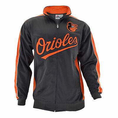 Officially licensed MLB Baltimore Orioles Full-Zip Jacket by -