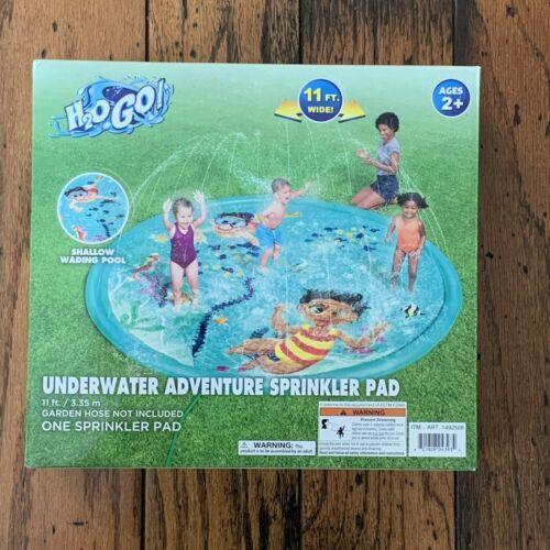 H2OGO! Underwater Adventure Ocean Theme Splash Sprinkler Pad 11