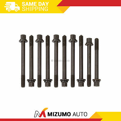 Head Bolts Fit 01-05 Kia Rio 1.5L & 1.6L DOHC A5D A6D