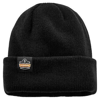 Ergodyne N-ferno 6811z Rib Knit Hat With Zippered Pocket Bump Cap Not Included