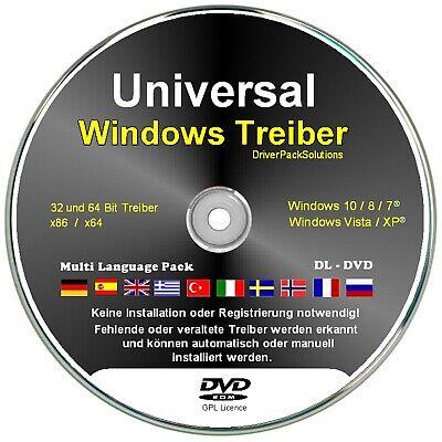 Windows Treiber DL DVD 7.3 GB Treiber Software für Drucker, W-LAN, Sound, Grafik ()