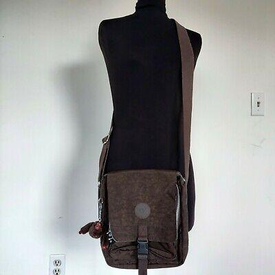 Brown Kipling El Dorado Crossbody Messenger Bag