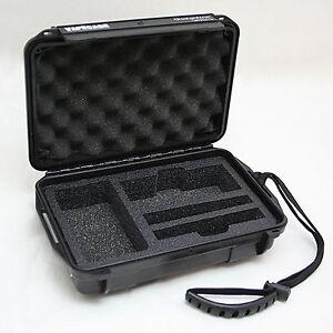 VAPECASE QSOL Custom Rugged Hard Case fits Arizer Solo Vaporizer Vape Airtight