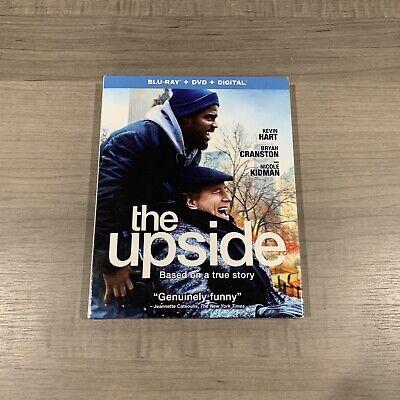 The Upside : Blu Ray, DVD, and Digital. Brand New