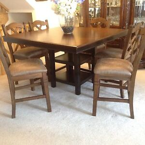 Buy or sell dining table sets in hamilton furniture for Table 6 chaises kijiji