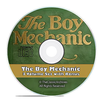 The Boy Mechanic, Mechanical, Electrical 3000 Projects Things for Boys to Do V52
