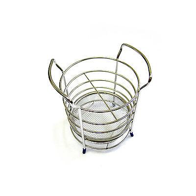 Living Core Round Stainless Steel Utensils Organizer Cutlery Holder Kitchen