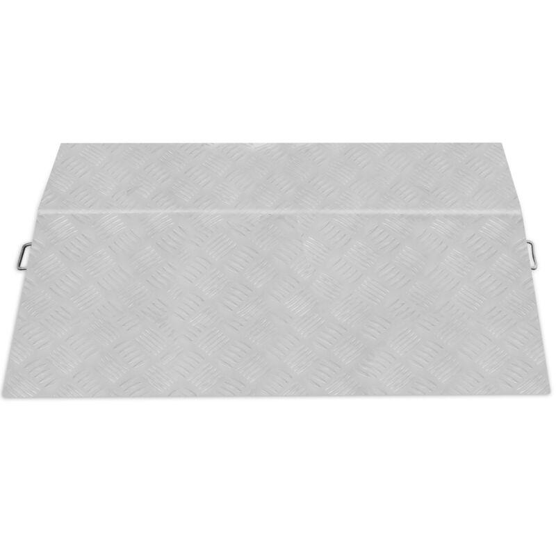 "Aluminum Hand Truck Dock Plate 4700lb 24 x 36"" Dockplate Curb Ramp"