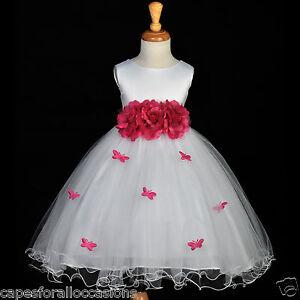 Butterfly Flower Girl Dress