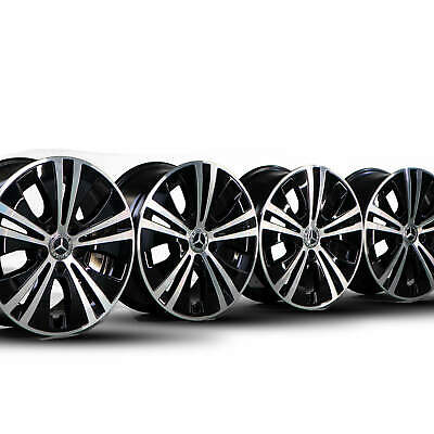 4x Mercedes 17 Zoll E-Klasse Felgen W213 S213 C238 Alufelgen A2134015100 NEU