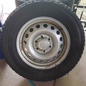 Hilux rims and tyres Darwin CBD Darwin City Preview