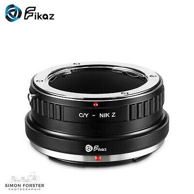 Fikaz CY to NIK-Z Adapter Contax Yashica to Nikon-Z Adapter gebraucht kaufen  Versand nach Germany